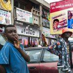 l'esterno di un centro commerciale a yaoundè in camerun