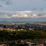 panoramama di yaoundè visto dal mont febè
