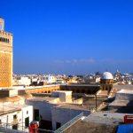 Tunisia, veduta dai tetti di Tunisi