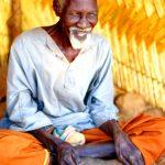 Mali, anziano capo di un villaggio