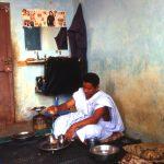 Mauritania, sosta ospite in casa di questa persona lungo la strada per Kiffa