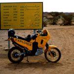 Algeria, l'inizio della pista per In Guezzam