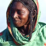 Niger, primo piano di donna