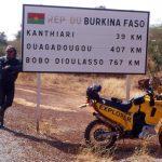 Niger, la linea di confine tra Niger e Burkina Faso
