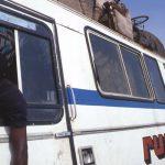 Burkina Faso, una corriera lungo la strada Yako Ouagadougou