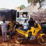 Burkina Faso, fotori cordo all'arrivo nella Missione dei Fratelli della Santa Famiglia a Nanorò
