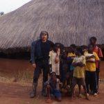 Burkina Faso, foto ricordo al mio arrivo con alcuni bambini della Missione