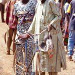 Burkina Faso, personaggi al mercato di Nanorò
