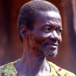 Burkina Faso, primo piano di uomo al villaggio di Nanorò