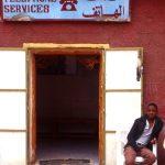 Algeria, un telefono pubblico a In Salah