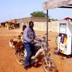 Burkina Faso, la stazione di rifornimento carburante a Nanorò