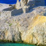 Croazia, le rovine della rocca di Paski Most