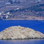 Croazia isola di Pag il faro tra prizna e zjlien