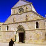 Croazia ,la cattedrale di Santa Maria a Pag
