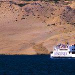 Croazia isola di Pag, il traghetto della Jadrolinja