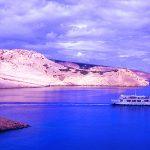 Croazia isola di Pag, il traghetto tra Prizna e Ziljen