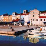 il borgo di cres sull'omonima isola croata