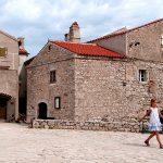 il borgo antico di lubenice sull'isola di cres