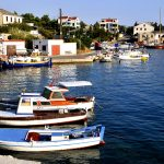 Europa, croazia, marina Simuni, isola di Pag