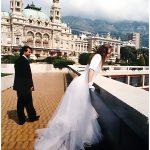 Foto di matrimonio stile reportage Principato di Monaco Monte Carlo 1990 © Nicola De Marinis Wedding photo reportage on Lake Como Milano Roma