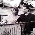 Foto di matrimonio stile reportage Como 1992 ph. © Nicola De Marinis Wedding photo reportage on Lake Como Milano Roma