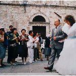 Foto matriomnio stile reportage Como Milano. Assisi 1985 Foto © Nicola De Marinis