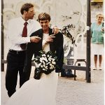 Foto di matrimonio, stile reportage, Como 2001 © Nicola De Marinis Wedding photo on lake como italy