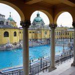 le antiche terme Szechenyi a Budapest