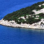 Croatia, Island of Rab, stretch of coast to Kampor