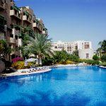girdania, aqaba, the hotel movenpik resort with his/her swimming pool