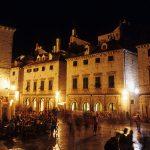 Dalmazia, Dubrovnik, lo stradum di sera