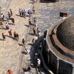 Dalmazia, Dubrovnik, lo stradum visto dall'alto
