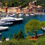 View of Portofino in Liguria