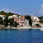 the port of the island of the Croatian molat