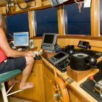 Europe, Croatia, fishing boat with a captain
