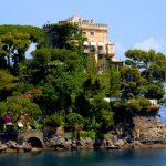 portofino A luxurious villa at the entrance of Portofino Bay in Liguria