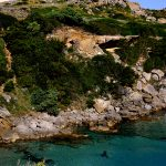 Europe, Italy, Sardinia, the head chief of the lighthouse on the headland at St terse di Gallura