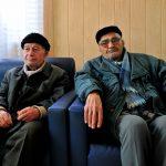Tblisi uomoni anziani al centro Caritas per i rifugiati