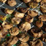 figs strung up to dry, Island Zverinak, croatia