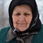 Romania,ritratto di donna anziana