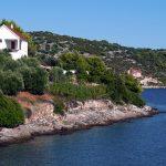 a stretch of the coast of Croatia in Zverinak