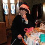eurasia,georgia,una donna anziana non vedente nella sua abitazione nella perifera di tblisi | Eurasia, Georgia, an elderly woman who is blind in his home in perifera in Tbilisi