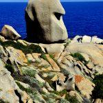 europa, italia, sardegna, formazioni rocciose sul promontorio di capo testa a santa teresa di gallura