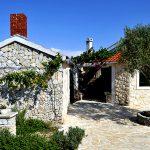 houses on the island of molat in Croatia