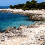 a stretch of coast in Veli rat on the island of Dugi Otok