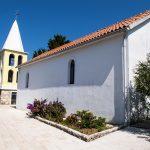 church S.Marija to Zverinak on the island in Croatian