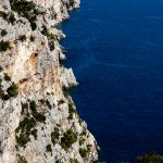 Coast landscape of the National Park Telascica in the south of the island of Dugi Otok