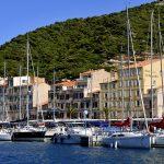 europe, france, corsica, the entrance to the port of Bonifacio