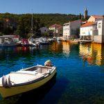 the port of the island of Dugi Otok Bozava