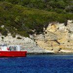 europe, france, corsica, a bay along the coast near Bonifacio